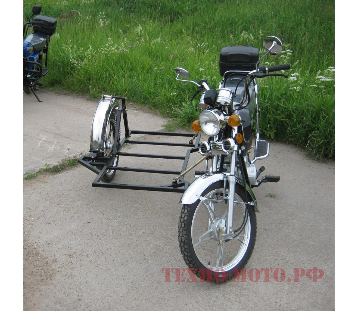 Как сделать коляску для мопеда альфа