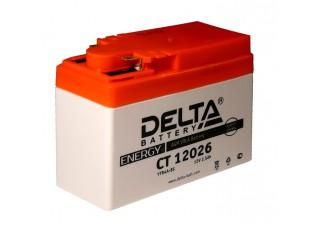 Аккумулятор DELTA CT 12026 4A-BS 2,5ah Honda (114 х 48 х 86)