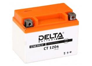 Аккумулятор DELTA CT 1204 YTX4L-BS (112 х 68 х 88)