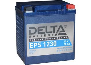 Аккумулятор DELTA EPS 1230 NANO-GEL YTX30HL-BS (166 x 130 x 175)