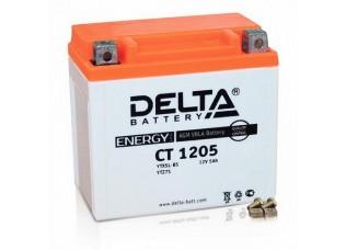 Аккумулятор DELTA CT 1205 YTX5L-BS (114 х 68 х 106)