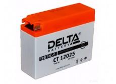 Аккумулятор DELTA CT 12025 4B-BS 2,5ah Suzuki,Yamaha (114 х 38 х 86)