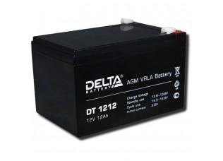 Аккумулятор DELTA DT 1212 гелевый 12v 12ah (151 x 98 x 98)