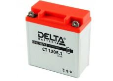 Аккумулятор DELTA CT 1205.1 YTX5A-BS (115 x 60 x 128)