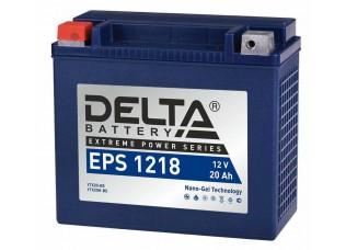 Аккумулятор DELTA EPS 1218 NANO-GEL YTX20-BS (176 x 87 x 154)