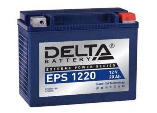 Аккумулятор DELTA EPS 1220 NANO-GEL YTX24HL-BS (205 x 87 x 162)