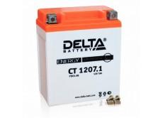 Аккумулятор DELTA CT 1207.1 YTX7L-BS (114 х 71 х 131)