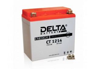Аккумулятор DELTA CT 1214 YTX14-BS (152 х 87 х 148)