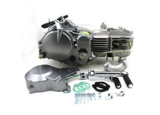 Двигатель в сборе YX 1P62FMK (W160-4V) 160см3, кикстартер, 4-х клапанный