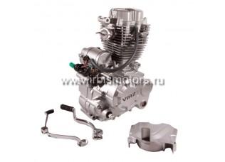 Двигатель в сборе 4Т 163FMJ (CG200) 196,9см3 (МКПП) (1-N-2-3-4-5)