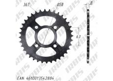 Звезда ведомая (530-36T) (4x63) CG125-250, CB125-250; TTR250a