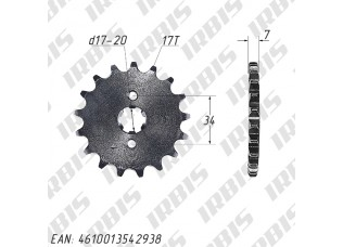 Звезда ведущая (428-17Т) 157FMI,163FML,166FMM (CG,CB125-250)