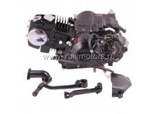 Двигатель в сборе 4Т 153FMI (CUB) 119,7см3 (МКПП) (N-1-2-3-4) (с ниж. э/стартером); TTR125