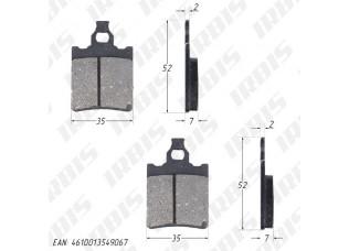 Колодки тормозные дисковые APRILIA RX,RS (FDB694)