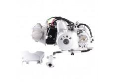 Двигатель в сборе 4Т 150FMG (CUB) 100см3 (МКПП) (N-1-2-3-4) (с верх. э/стартером); ALPHA, DELTA