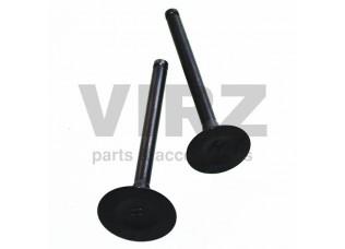 Клапаны (впуск/выпуск) 152QMI (GY6) (d=21/24) (l=64/65)