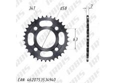 Звезда ведомая (428-34Т) (4x53) CG125-250, CB125-250