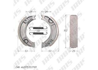 Колодки тормозные барабанные (105x25mm) DELTA,ALPHA,CG125 задние