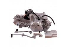 Двигатель в сборе 4Т 153FMI (CUB) 124,9см3 (п/авт.) (N-1-2-3) (с верх. э/стартером); ACTIV, EX110, IROKEZ