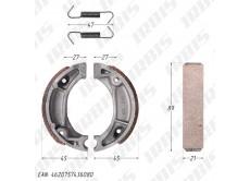 Колодки тормозные барабанные (90x20mm) DIO