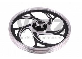Диск колесный R17 передний 1.2-17 (литой) (диск. 5x46) (5 дв. закруг. лучей); ALPHA, ACTIV, IROKEZ