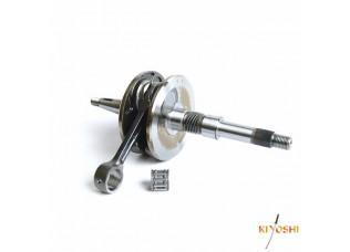 Вал коленчатый в сборе 2Т AF34/35 (34mm) (+ игольчатый подшипник) KIYOSHI
