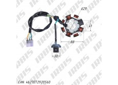 Статор генератора 157FMI, 162FMJ, 166FMM (CG, CB) (8 кат.)