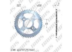 Звезда ведомая (428H-50T) (4x63) CG125-250, CB125-250; TTR250Rb