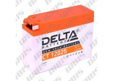 Аккумуляторная батарея 12V 2,3Ah Slim (114х48х86) (гелевая, необслуж.) DELTA; AD/JOG