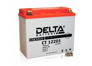 Аккумуляторная батарея 12V 18Ah (177x87x154) (залитая, необслуж.) DELTA