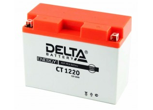 Аккумуляторная батарея 12V 20Ah (204x90x159) (залитая, необслуж.) DELTA