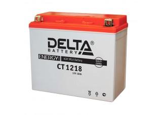 Аккумуляторная батарея 12V 18Ah (177x88x154) (залитая, необслуж.) DELTA