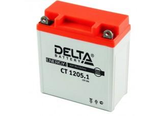 Аккумуляторная батарея 12V 5Ah (120x60x129) (залитая, необслуж.) DELTA
