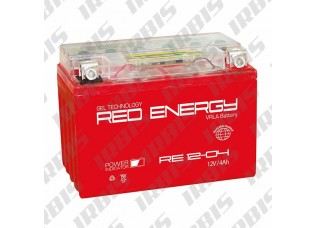 Аккумуляторная батарея 12V 4Ah (114x70x87) (гелевая, необслуж.) RED ENERGY