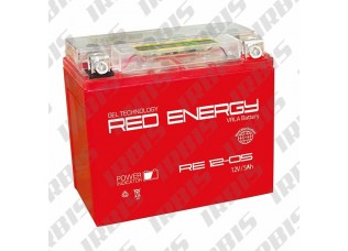 Аккумуляторная батарея 12V 5Ah (114х70х106) (гелевая, необслуж.) RED ENERGY