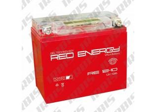 Аккумуляторная батарея 12V 10Ah (137x77x135) (гелевая, необслуж.) RED ENERGY