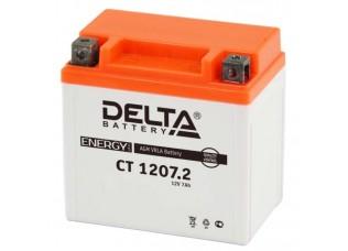 Аккумуляторная батарея 12V 7Ah (114x70x108) (залитая, необслуж.) DELTA