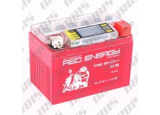 Аккумуляторная батарея 12V 4Ah (114x70x86) (гелевая, необслуж., с ЖК дисплеем) RED ENERGY