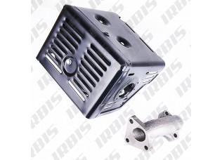 Глушитель 4Т ZS188F (18000-PB50-0000)