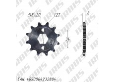 Звезда ведущая (530-12T) 157FMI,163FML,166FMM (CG,CB125-250)