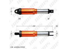 Амортизатор задний (L-280mm,D-10mm,M8) (внутр.пружина)