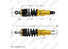 Амортизатор задний (L-300mm,D-10mm,M8) (2 пружины)