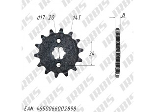 Звезда ведущая (530-14T) 157FMI,163FML,166FMM (CG,CB125-250)