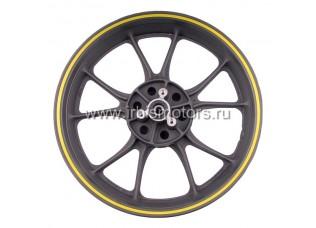 Диск колесный R17 задний 3.50-17 (литой) (диск. 3x68) (10 лучей); Z1