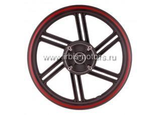 Диск колесный R17 задний 2.5-17 (литой) (диск. 4x88) (6 лучей); VJ