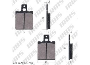 Колодки тормозные дисковые JOG (HF115) 7мм