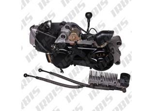 Двигатель в сборе 4Т 157QMJ (GY6) 149,5см3 AC (реверс, руч. стартер, масл. радиатор) JINLANG; ATV150