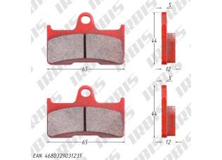 Колодки тормозные дисковые CF500a,CF500-2a,CF500 X5,CF625 X6,CF800 X8 (зад)